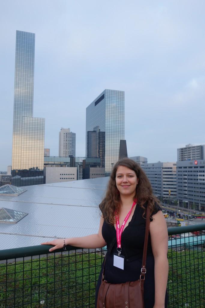 Lucie à Rotterdam, soirée de networking TBU