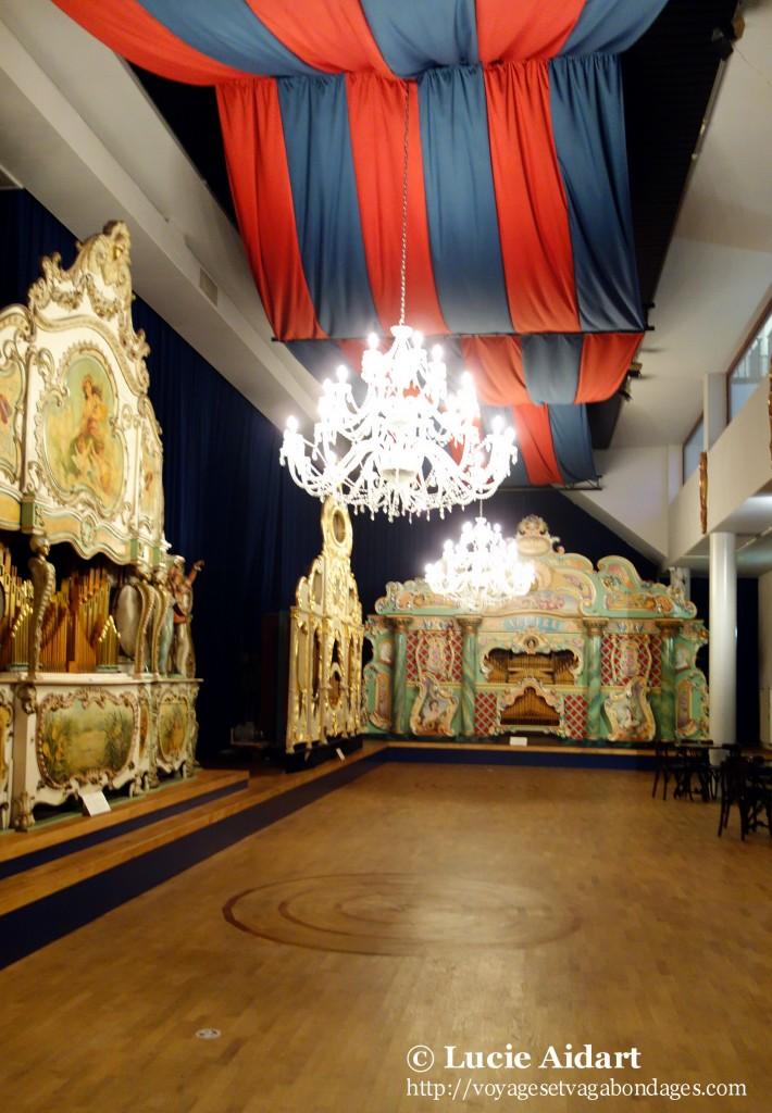 Salle de bal et Orgues de Barbarie