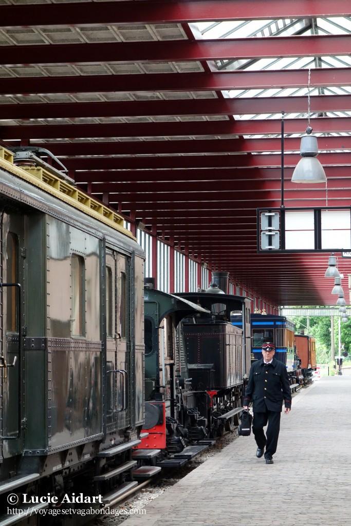 Musée du train à Utrecht