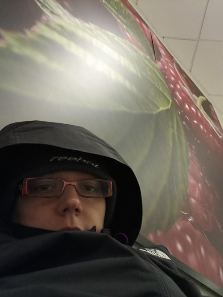 Dure nuit à l'aéroport de Luton