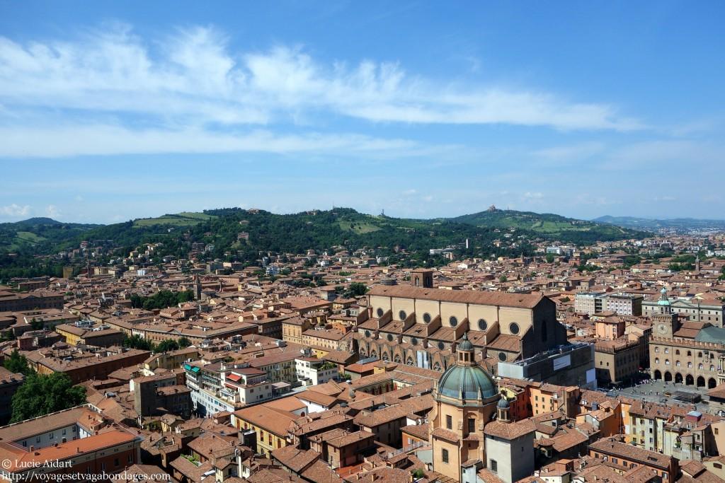 Vue sur Bologne depuis la Tour Asinelli