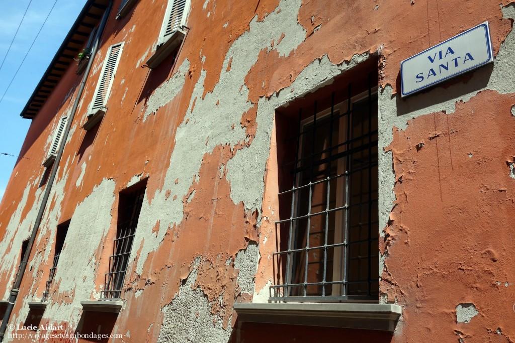 Les rouges à Bologne