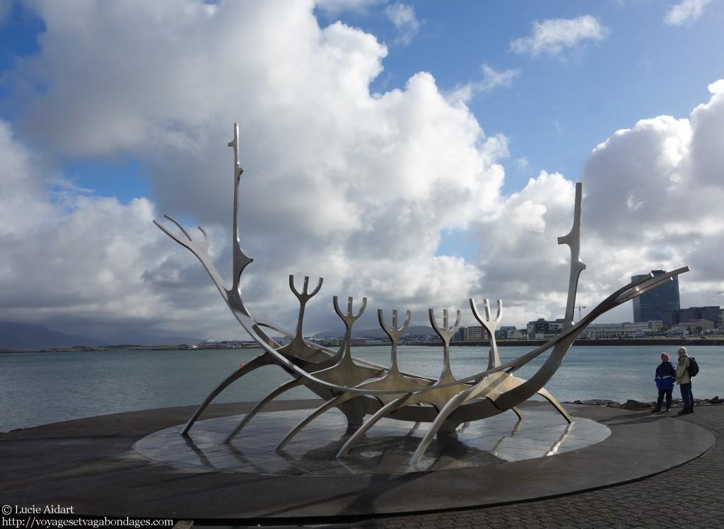 Front de mer à Reykjavik