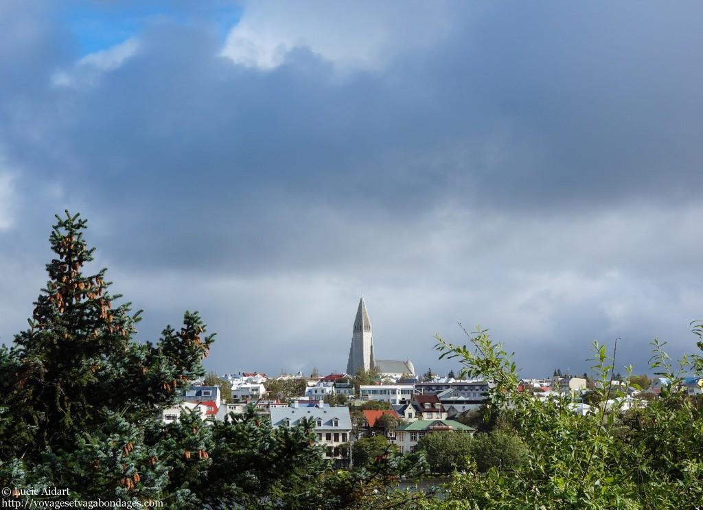 Sur les hauteurs de Reykjavik