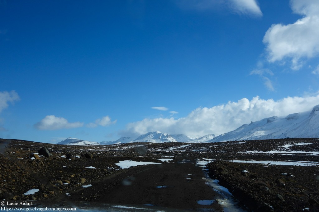 En approche du glacier