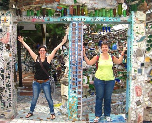 Avec Sarah au jardin magique