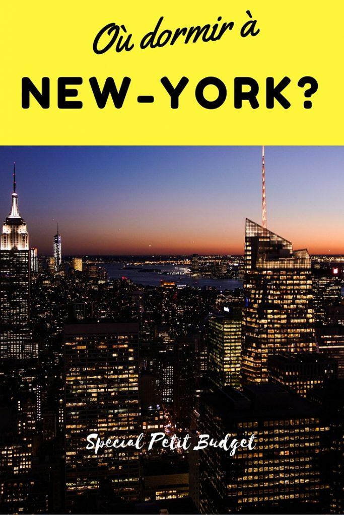 Où dormir à New-York ? Une bonne adresse d'auberge de jeunesse à petit budget!