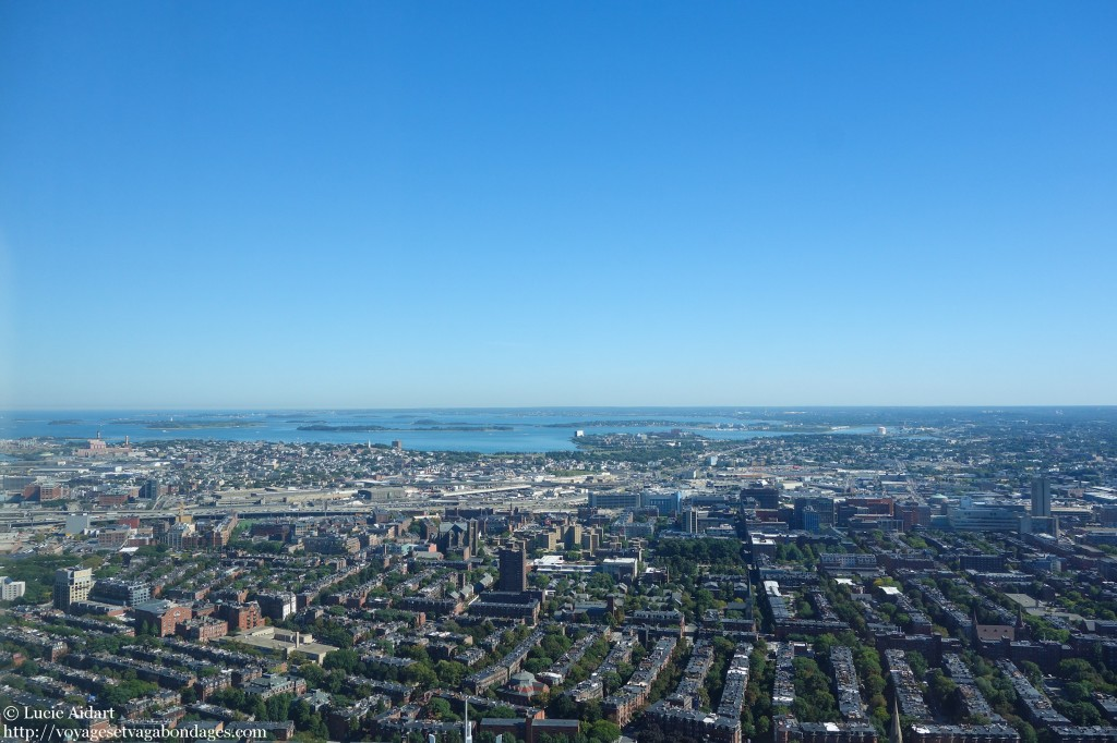 Vue sur Boston