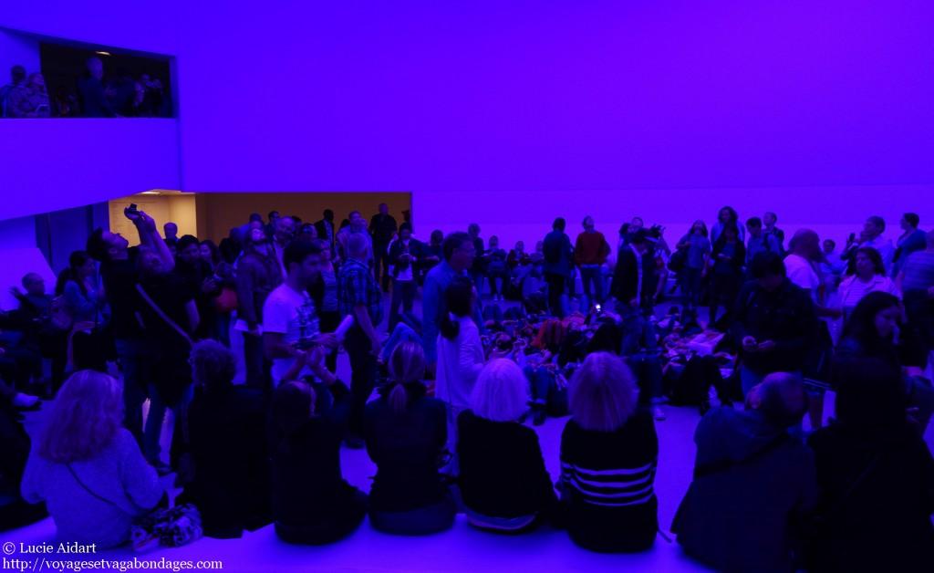 La foule au Guggenheim
