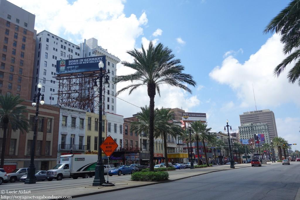 Centre-ville de La Nouvelle Orléans