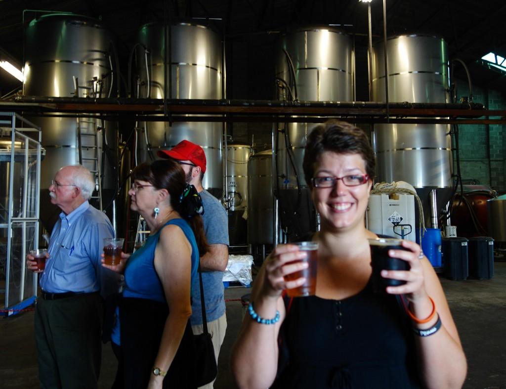 Dégustation de bière à Nola Brewery