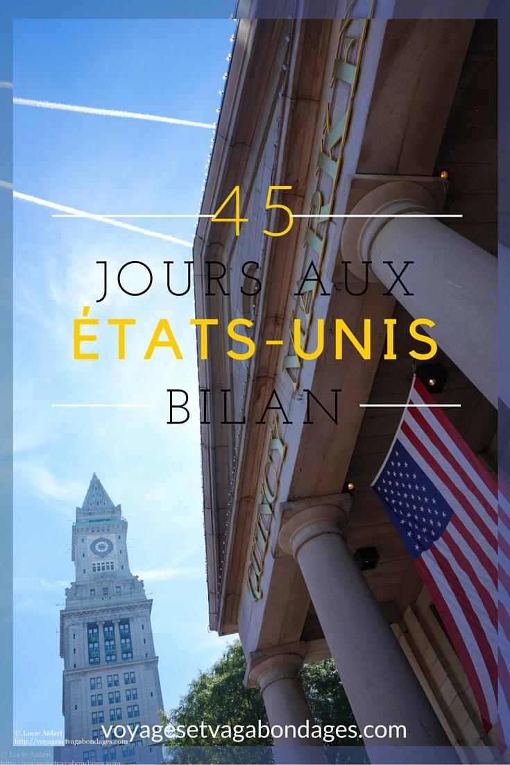 45 jours aux Etats-Unis, le bilan: impressions, conseils, budget et itinéraire