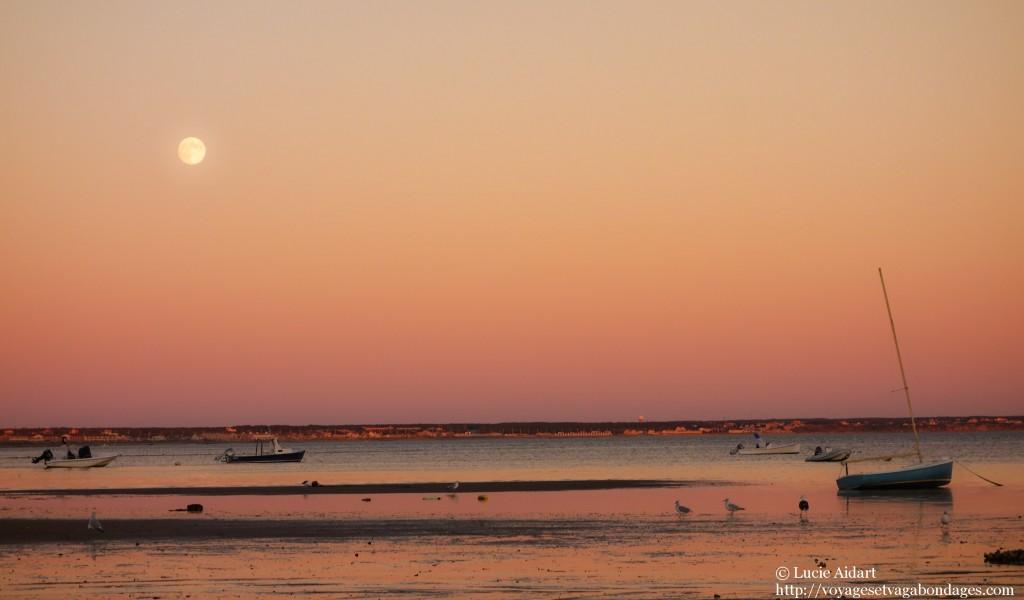 Coucher de soleil à Provincetown