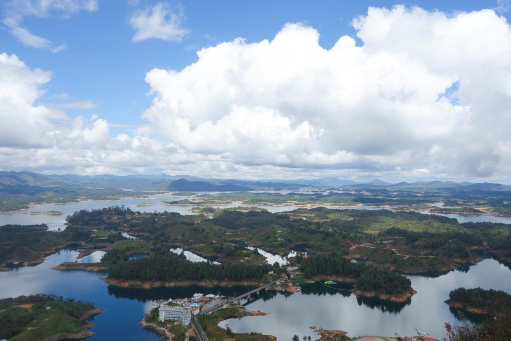 Guatape en Colombie