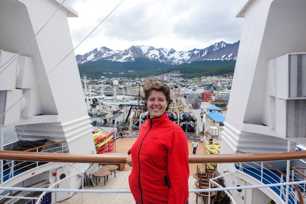 Départ de Ushuaïa pour une croisière en Antarctique