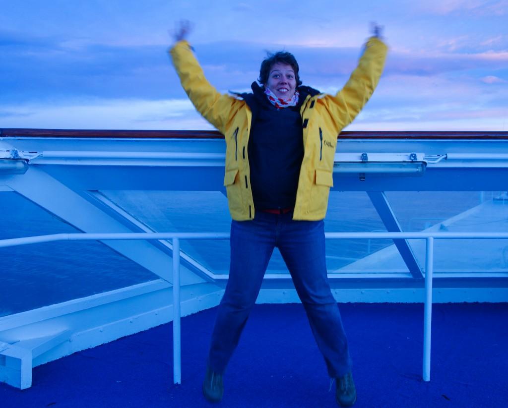 En route vers le bout du monde, première de la croisière pour l'Antarctique