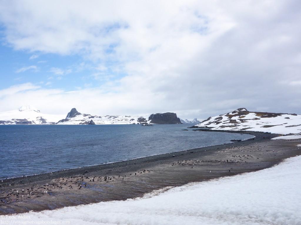 Paysages d'Antarctique lors d'un voyage en Antarctique