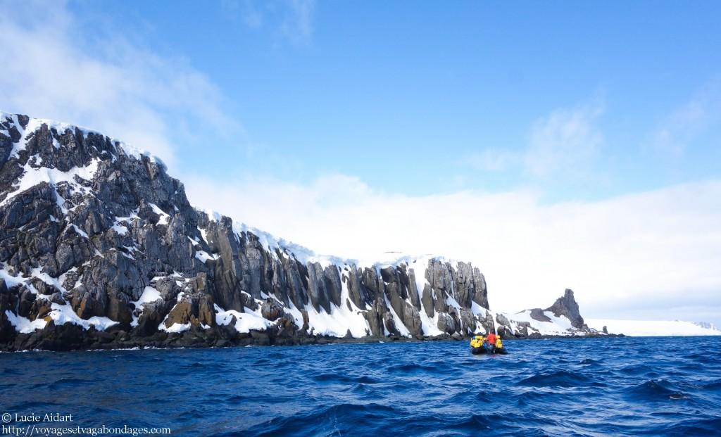 Croisière en zodiac en Antarctique