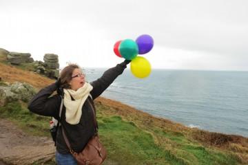 Lucie fête ses 26 ans en Cornouailles