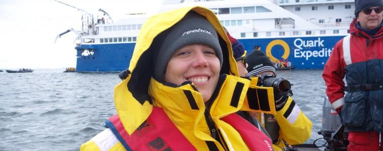 Une nouvelle journée en Antarctique