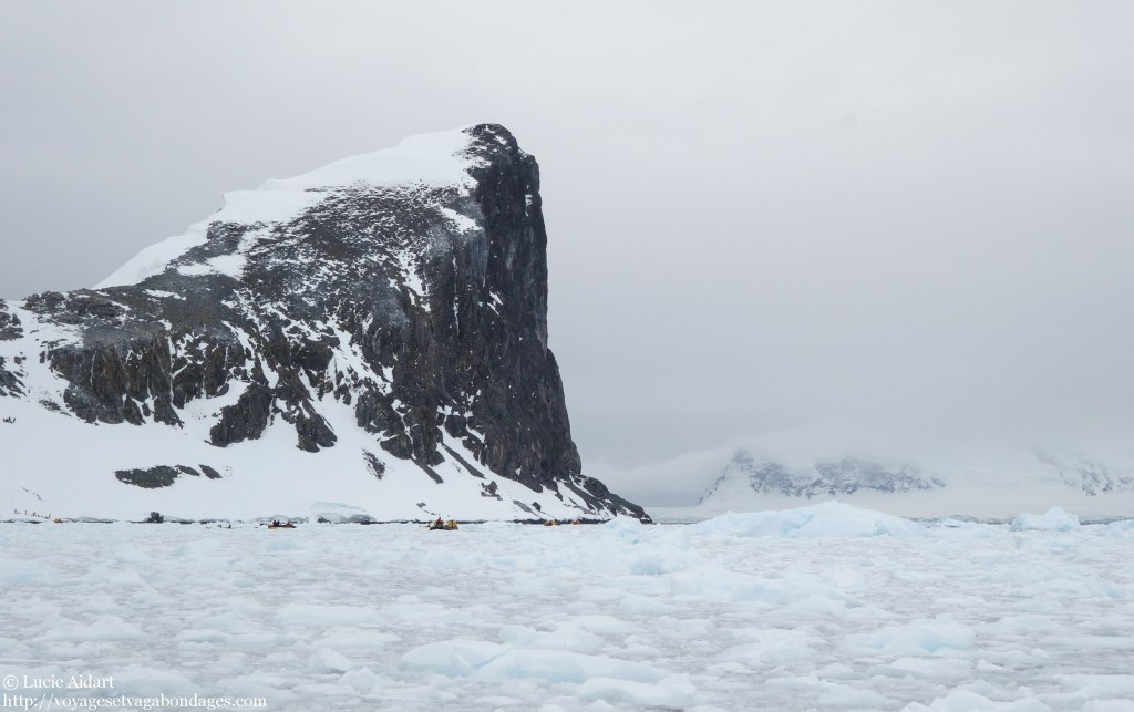 Pris dans la glace en Antarctique