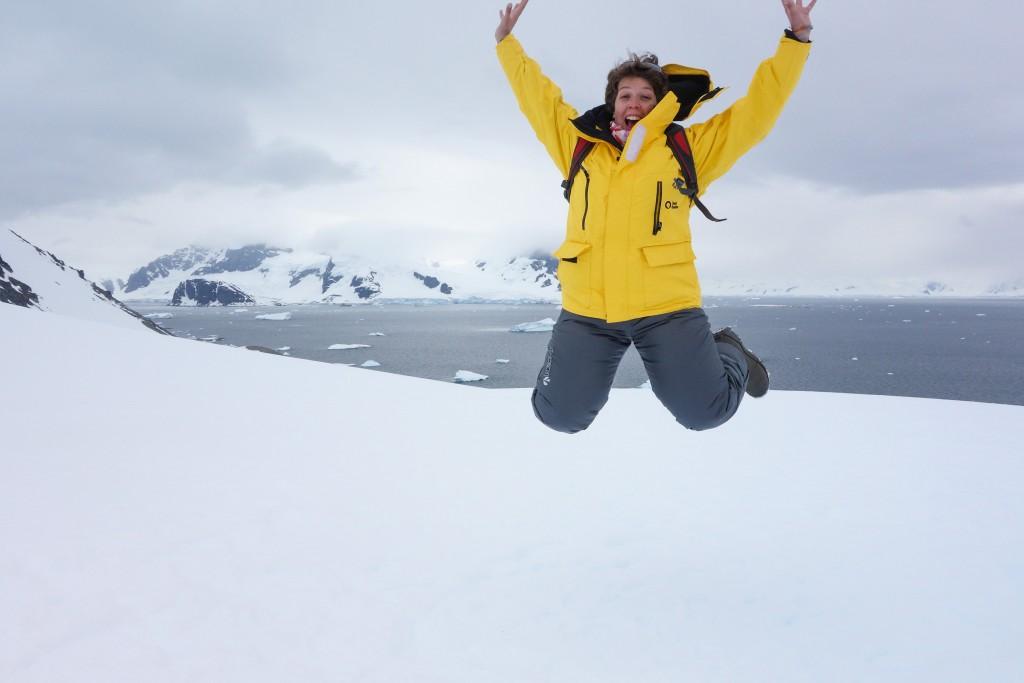 J'ai mis le pied sur le 7e continent, l'Antarctique