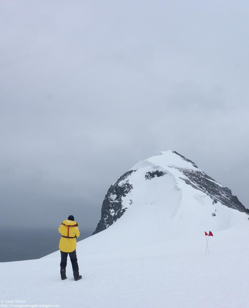 Poser le pied sur le septième continent, l'Antarctique