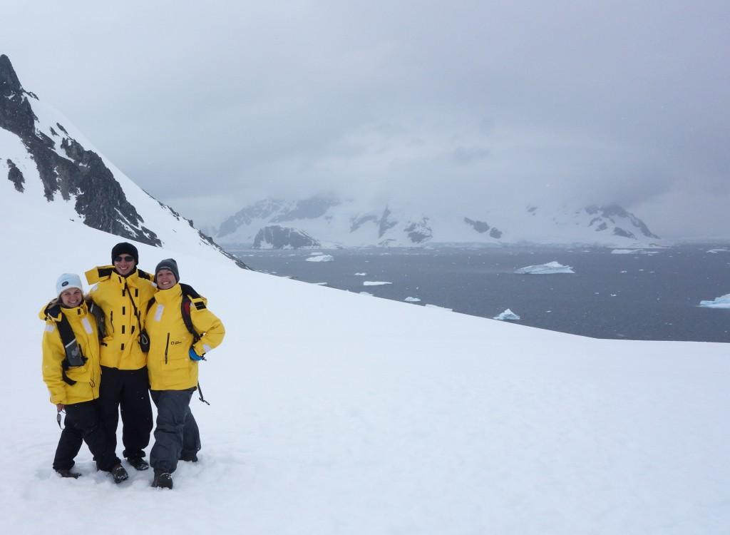 Avec Idan et Olena sur le 7e continent