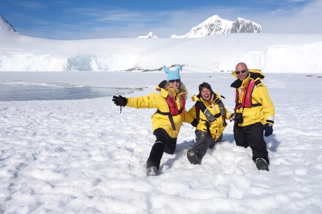 Derniers instants en Antarctique avec Barbara et Idan