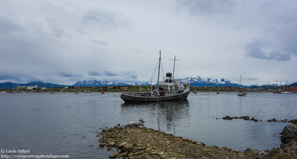 Navire échoué à Ushuaïa - Que faire à Ushuaïa? - Visiter Ushuaia, la ville du bout du , en Patagonie Argentine