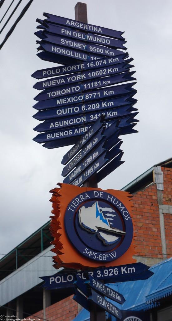 Panneau du bout du monde - Que faire à Ushuaïa? - Visiter Ushuaia, la ville du bout du , en Patagonie Argentine
