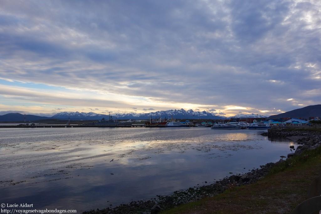 Coucher de soleil à Ushuaïa