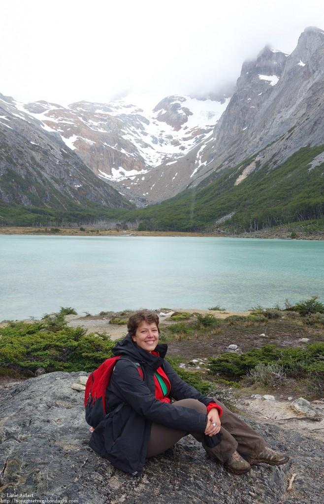Au Laguna Esmeralda - Que faire à Ushuaïa? - Visiter Ushuaia, la ville du bout du , en Patagonie Argentine