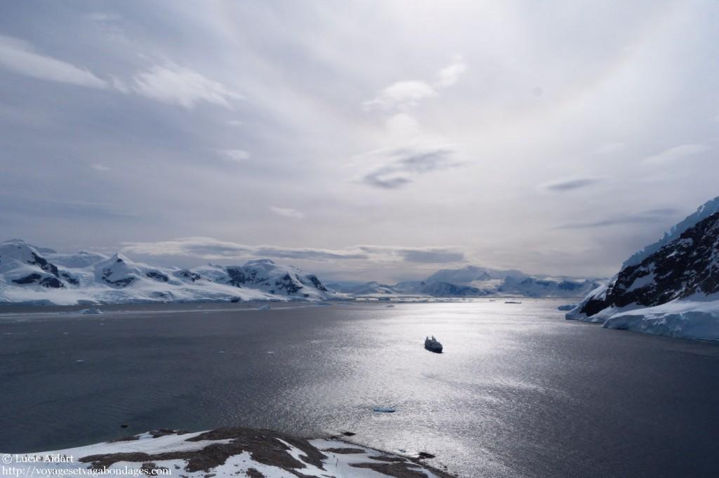Neko Harbour - Parhélie en Antarctique - Fêter Noël en Antarctique