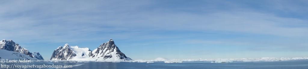 Chenal Lemaire - Le denier jour en Antarctique