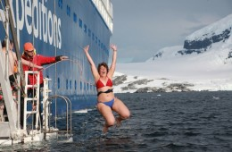 Plongeon polaire en Antarctique