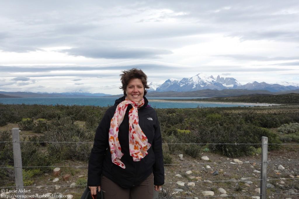 Lucie à Torres del Paine