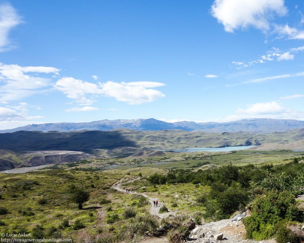 Début de la randonnée des Torres