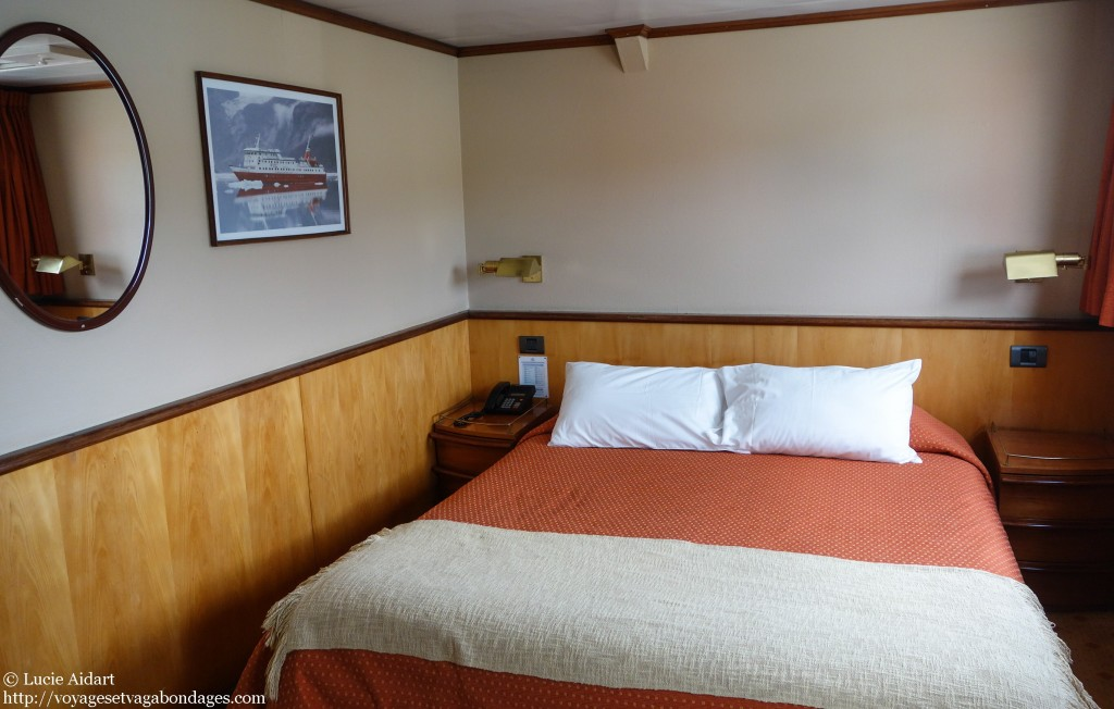 Ma cabine à bord du Skorpios III
