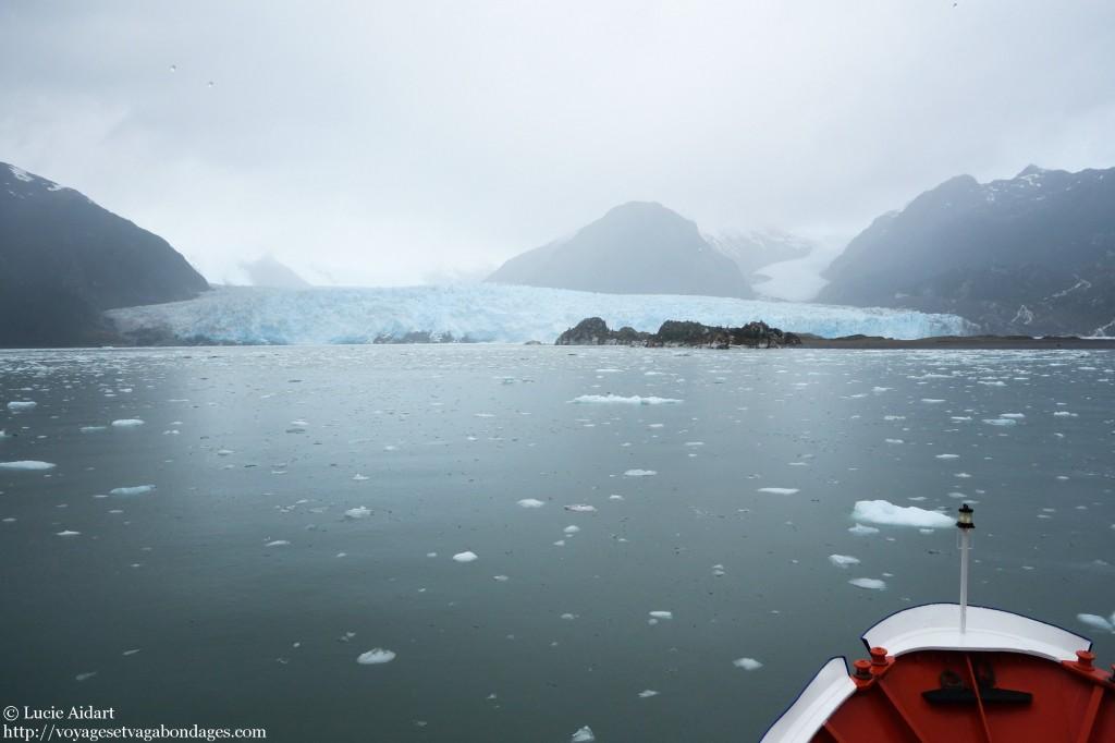 Approche du glacier Amalia