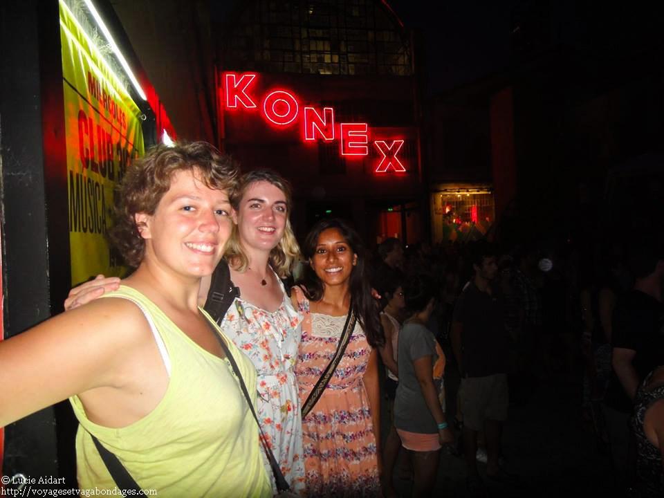 Premier soir à Buenos Aires et retrouvailles avec Norma et Natasha