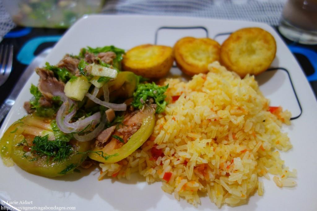 Un bon petit plat cuisiné par Pili