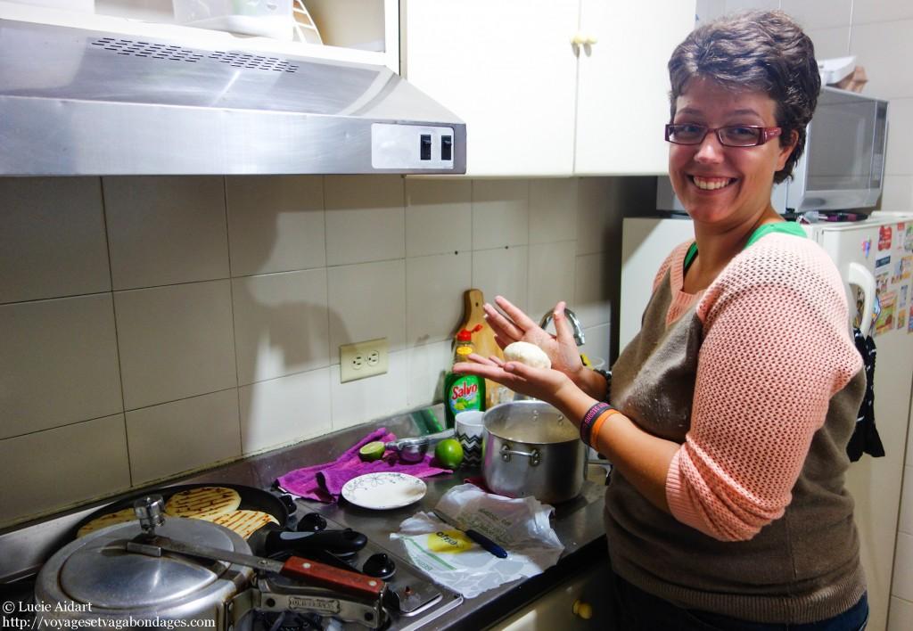 Ma tentative à cuisiner des Arepas
