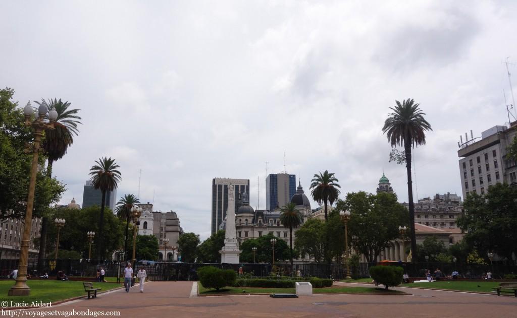 La place devant la Casa Rosada