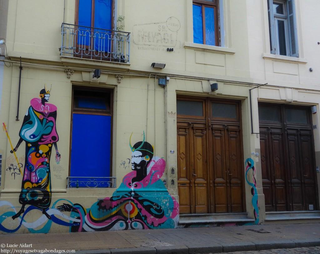 Street art à San Telmo