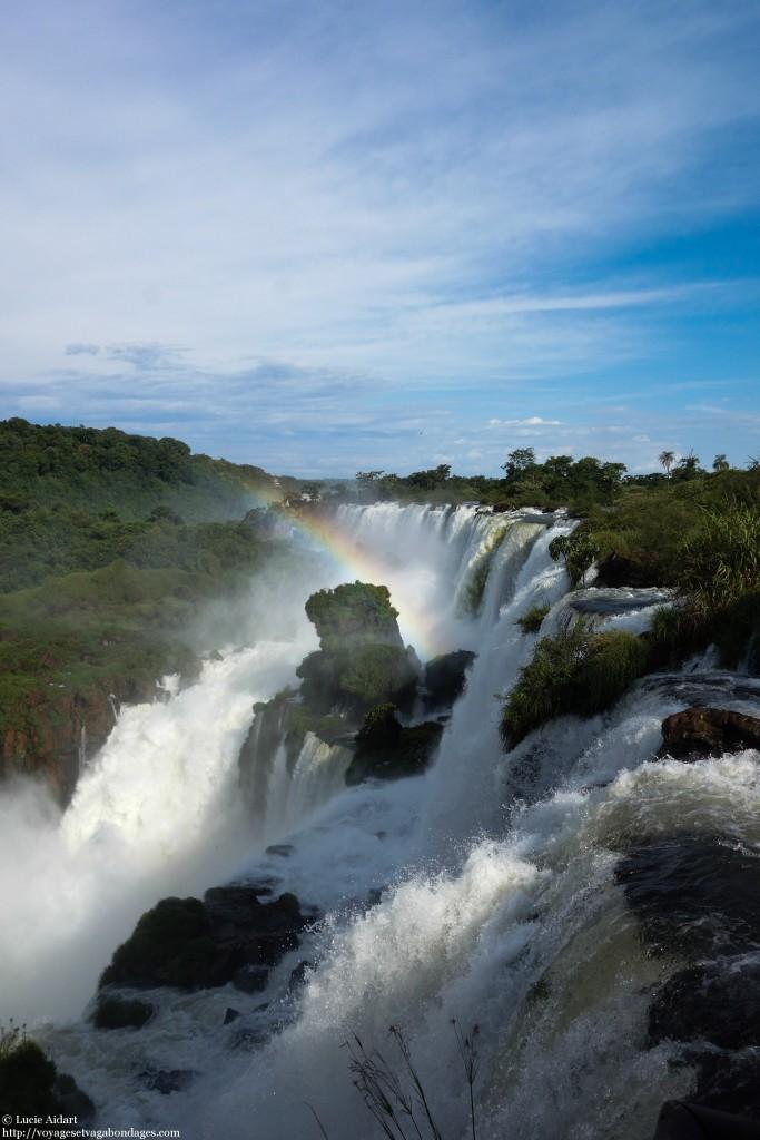 Arc-en-ciel à Iguazu