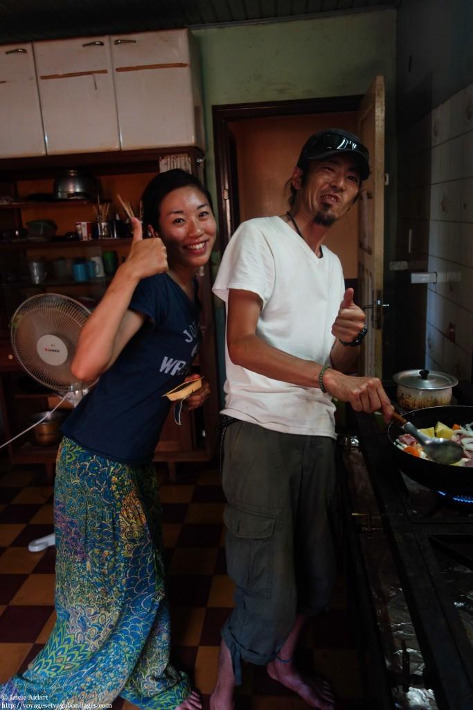 Yumeko et Masa aux fourneaux, une équipe de choc
