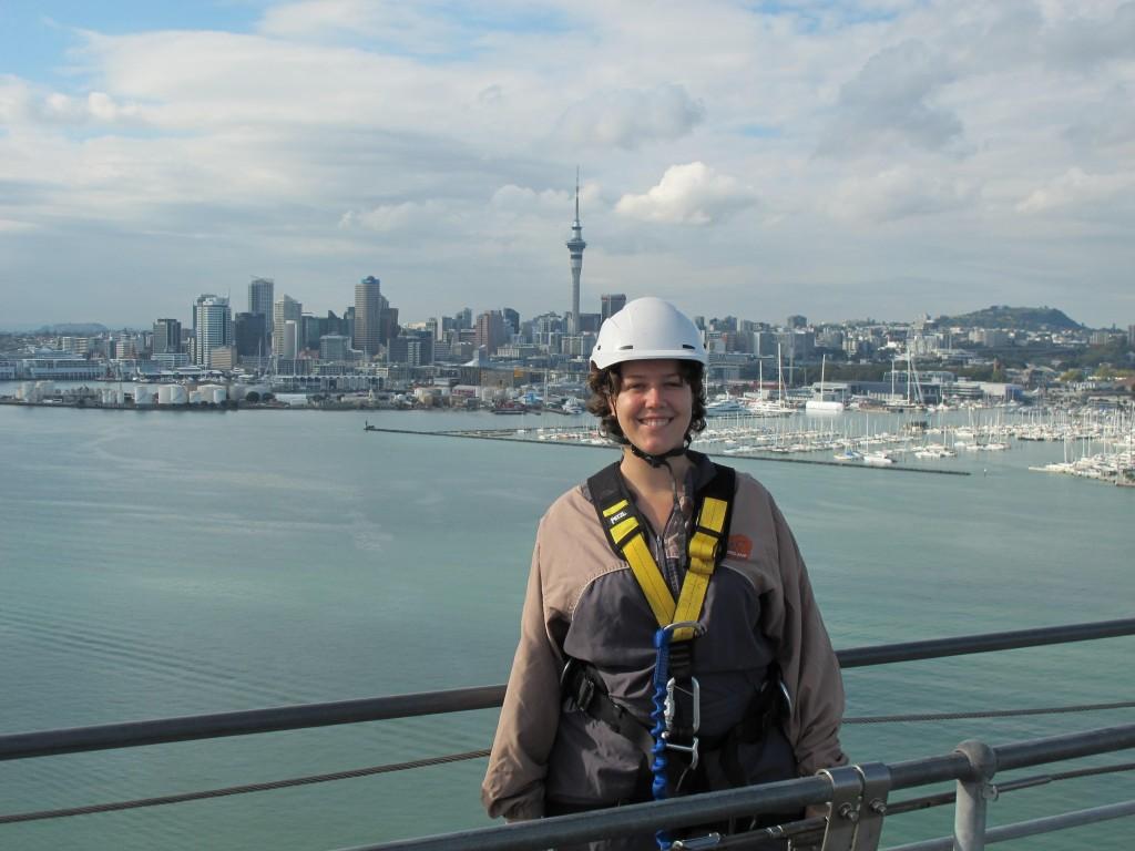 Vue sur Auckland depuis le pont