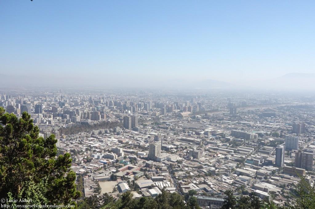 Vue depuis le Cerro San Cristobal