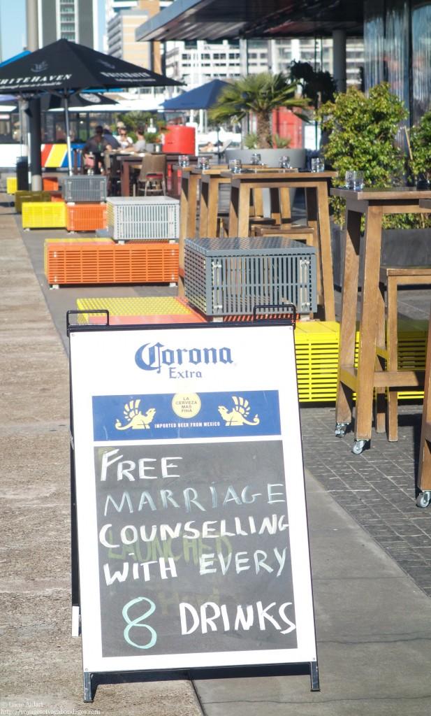 Bar à Auckland